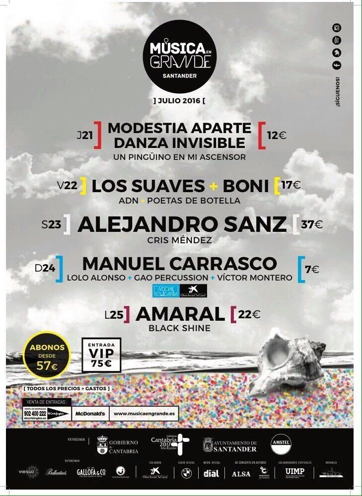Semana Grande Santander 2016