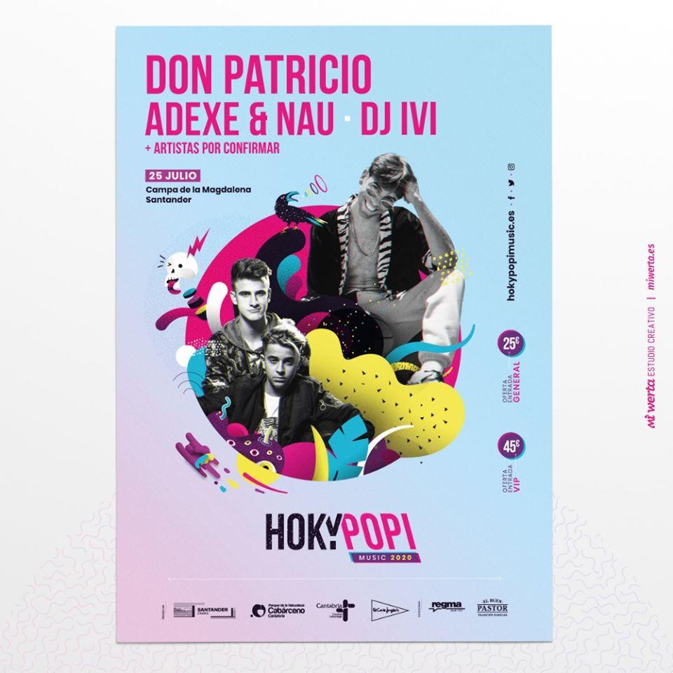 Don Patricio en Santander - Festival Hoky Popi