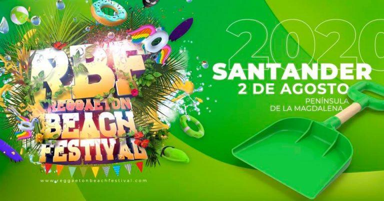 Reggaeton Beach Festival 2020 Santander  presenta artistas