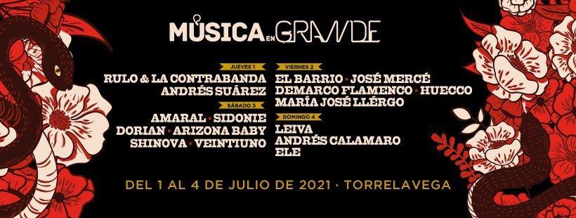 Música en Grande 2021 - Torrelavega
